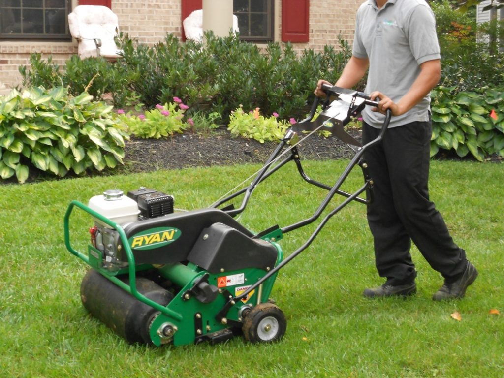 Lawn Aeration - LawnMate Quality Lawn Care